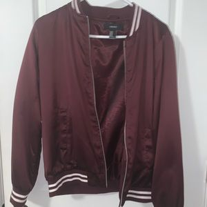 Jackets & Blazers - Burgundy Jacket
